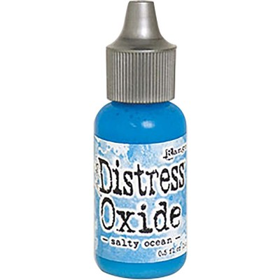 "Distress Oxides Reinkers - Tim Holtz- couleur ""Salty Ocean"""
