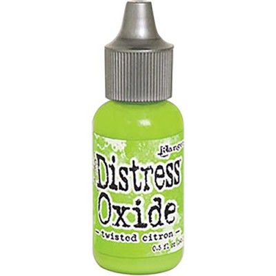 Distress Oxides Reinkers - Tim Holtz- couleur «Twisted Citron»