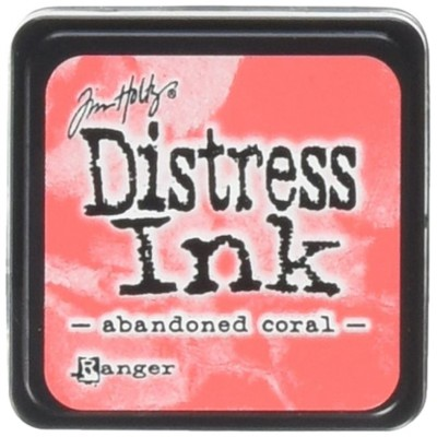 "Distress Mini Ink Pad ""Abandoned Coral"""
