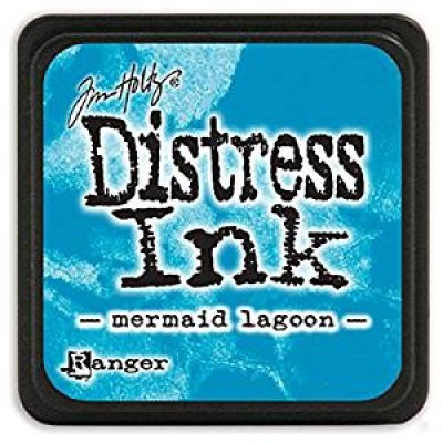 "Distress Mini Ink Pad ""Mermaid Lagoon"""