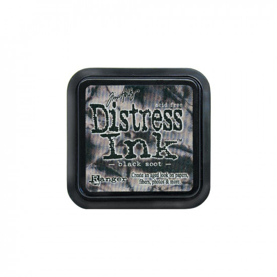 Distress Ink Pad -Black Soot-