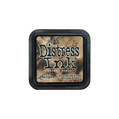 Distress Ink Pad -Walnut stain-