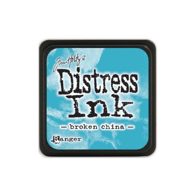"Distress Mini Ink Pad ""Broken China"""
