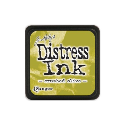 "Distress Mini Ink Pad ""Crushed Olive"""