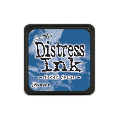 "Distress Mini Ink Pad ""Faded Jeans"""