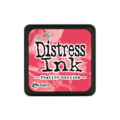 "Distress Mini Ink Pad ""Festive Berries"""