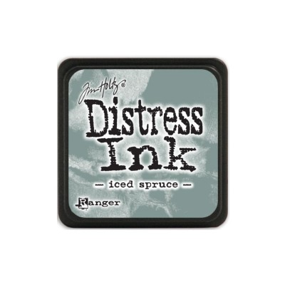 "Distress Mini Ink Pad ""Iced Spruce"""