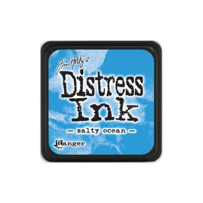"Distress Mini Ink Pad ""Salty Ocean"""