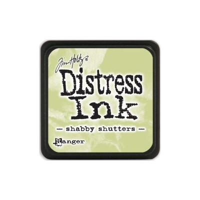 "Distress Mini Ink Pad ""Shabby Shutters"""
