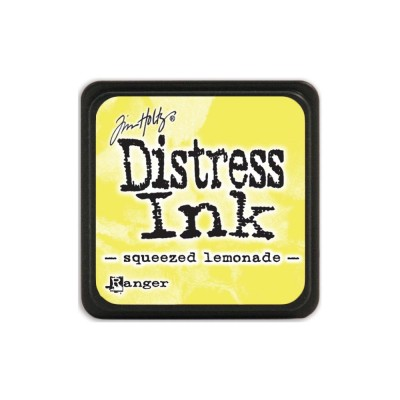"Distress Mini Ink Pad ""Squeezed Lemonade"""