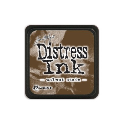 "Distress Mini Ink Pad ""Walnut Stain"""