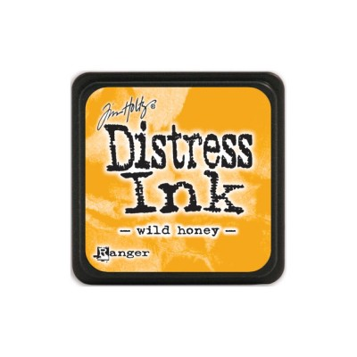 "Distress Mini Ink Pad ""Wild Honey"""