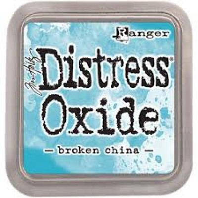 Distress Oxides Ink Pad - Tim Holtz- couleur «Broken china»