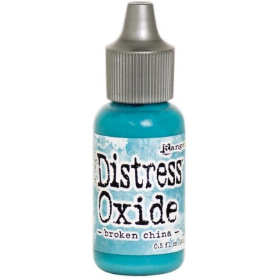 "Distress Oxides Reinkers - Tim Holtz- couleur ""Broken China"""
