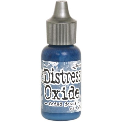 Distress Oxides Reinkers - Tim Holtz- couleur «Faded Jean»