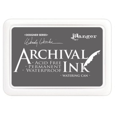"Ranger- Archival Ink pad couleur ""Watering Can"""