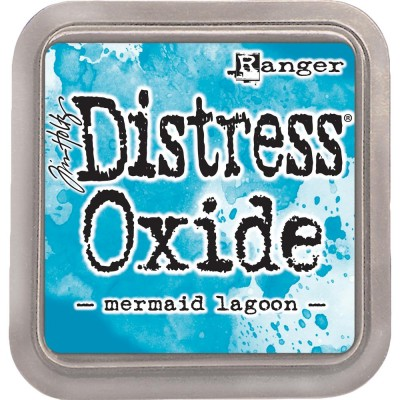 "Distress Oxides Ink Pad - Tim Holtz- couleur ""Mermaid Lagoon"""