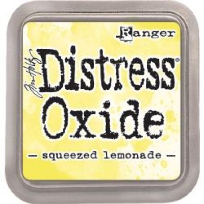 "Distress Oxides Ink Pad - Tim Holtz- couleur ""Squeezed Lemonade"""