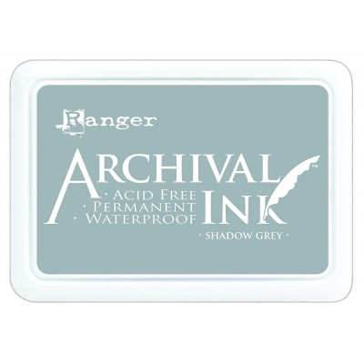 "Ranger- Archival Ink pad couleur ""Shadow Grey"""