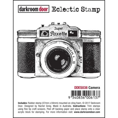 "Darkroom Door - Estampe ""Camera"""