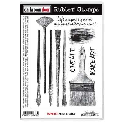 "Darkroom Door - ""Artist Brushes"" ensemble d'estampes"