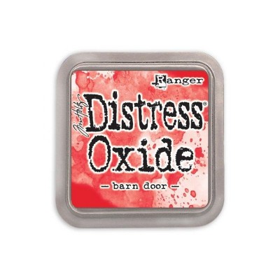 Distress Oxides Ink Pad - Tim Holtz- couleur «Barn Door»