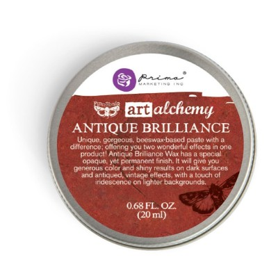 Finnabair - Art Alchemy pâte brillante antique «Fire Ruby»