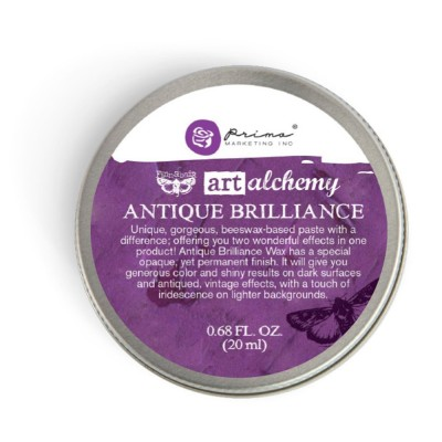 Finnabair - Art Alchemy pâte brillante antique «Amethyst Magic»