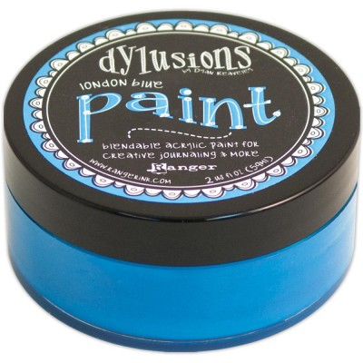 Dylusions - Peinture acrylique mélangeable 2oz - London Blue