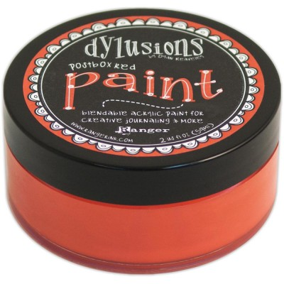 Dylusions - Peinture acrylique mélangeable 2oz - Postbox Red