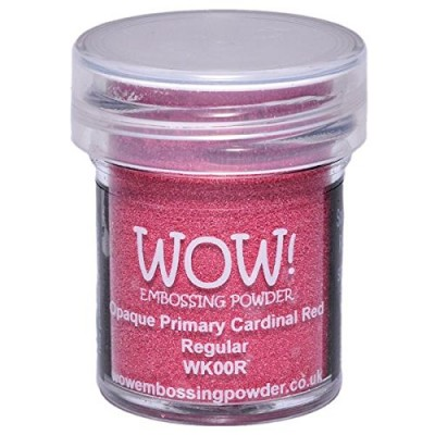 WOW! Poudre à embosser 15ml «Cardinal Red»