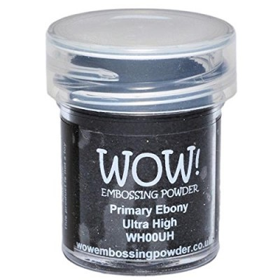 WOW! Poudre à embosser 15ml «Primary Ebony»