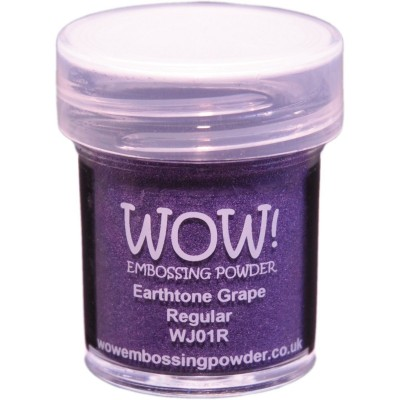 "WOW! Poudre à embosser 15ml "" Earthtone Grape"""