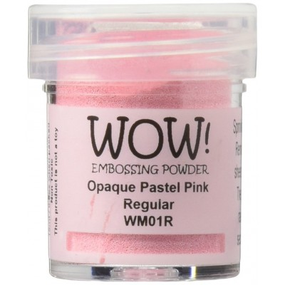 WOW! Poudre à embosser 15ml «Pastel Pink»