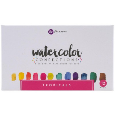 Prima - Watercolor Confections palette «tropicals»