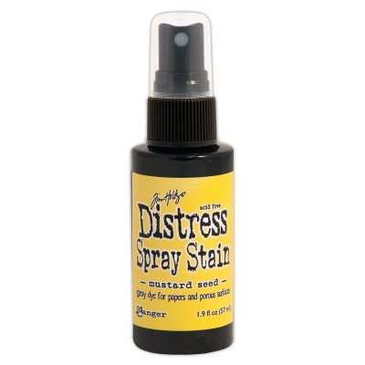 Distress Spray Stain 1.9oz couleur «Mustard Seed»