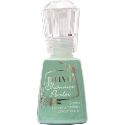 Nuvo - Shimmer Powder couleur «Green Parade»