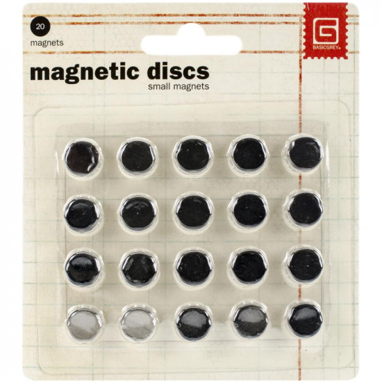 BASIC GREY - Disques magnétiques .375""