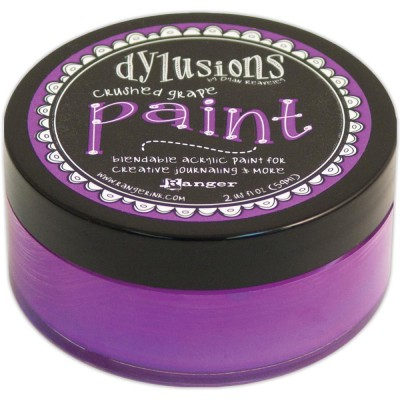 Dylusions - Peinture acrylique mélangeable 2oz - Crushed Grape