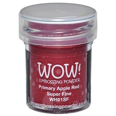 "WOW! Poudre à embosser 15ml ""Apple Red"""