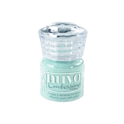 "NUVO: Poudre à embosser ""Serenity Blue"""