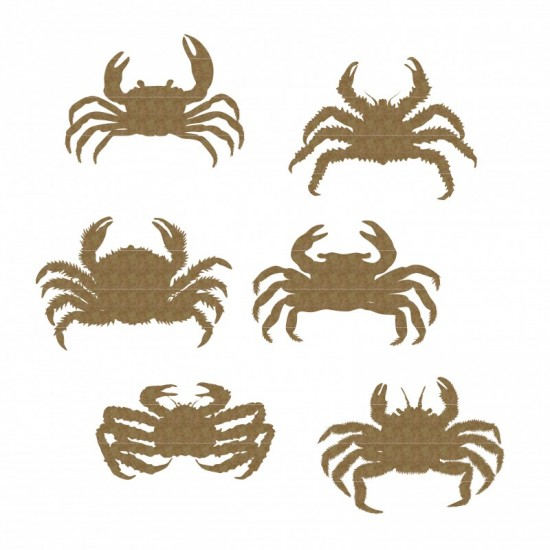"Creative Embellishments - Chipboard ""Crabes"""