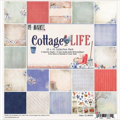 "49& Market bloc de papier collection ""Cottage Life"""