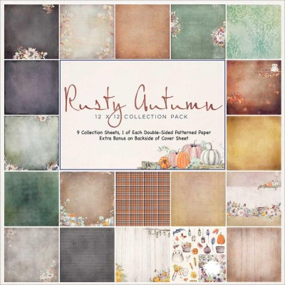 "49& Market bloc de papier collection ""Rusty Autumn"""