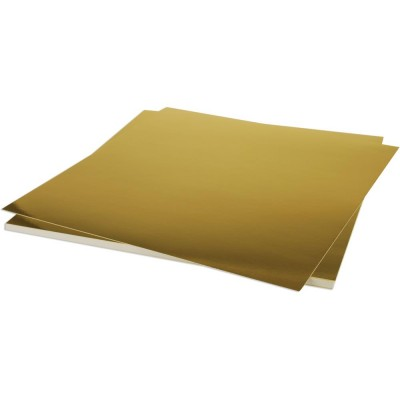 "Bazzill Foil Cardstock 12""X12"" couleur or brillant"