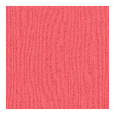 "Bazzill Mono Cardstock 12""X12"" Roselle"