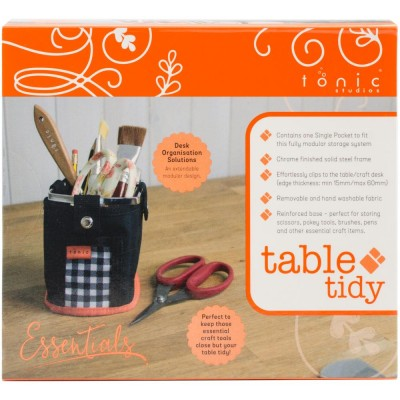 Tonic Studios  - «Table Tidy» panier de rangement poche simple