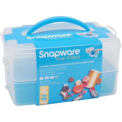 SNAPWARE - Snap 'N Stack Craft Organisateur.