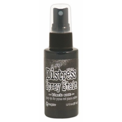 "Distress Spray Stain 1.9oz couleur ""Black Soot"""
