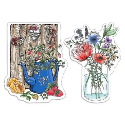 PRÉCOMMANDE- Ciao Bella - Estampe collection Notre vie  «Fleurs et feuilles sauvages»